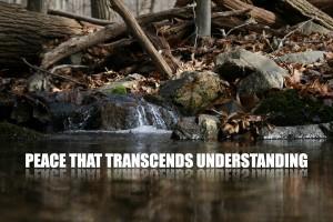 Peace That Transcends Understanding
